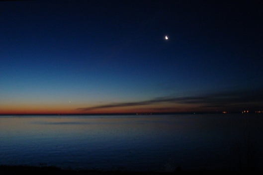Sunrise over Lake Superior 1/7/12